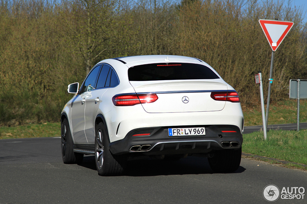 Mercedes Amg Gle 63 Coupe 16 April 2015 Autogespot