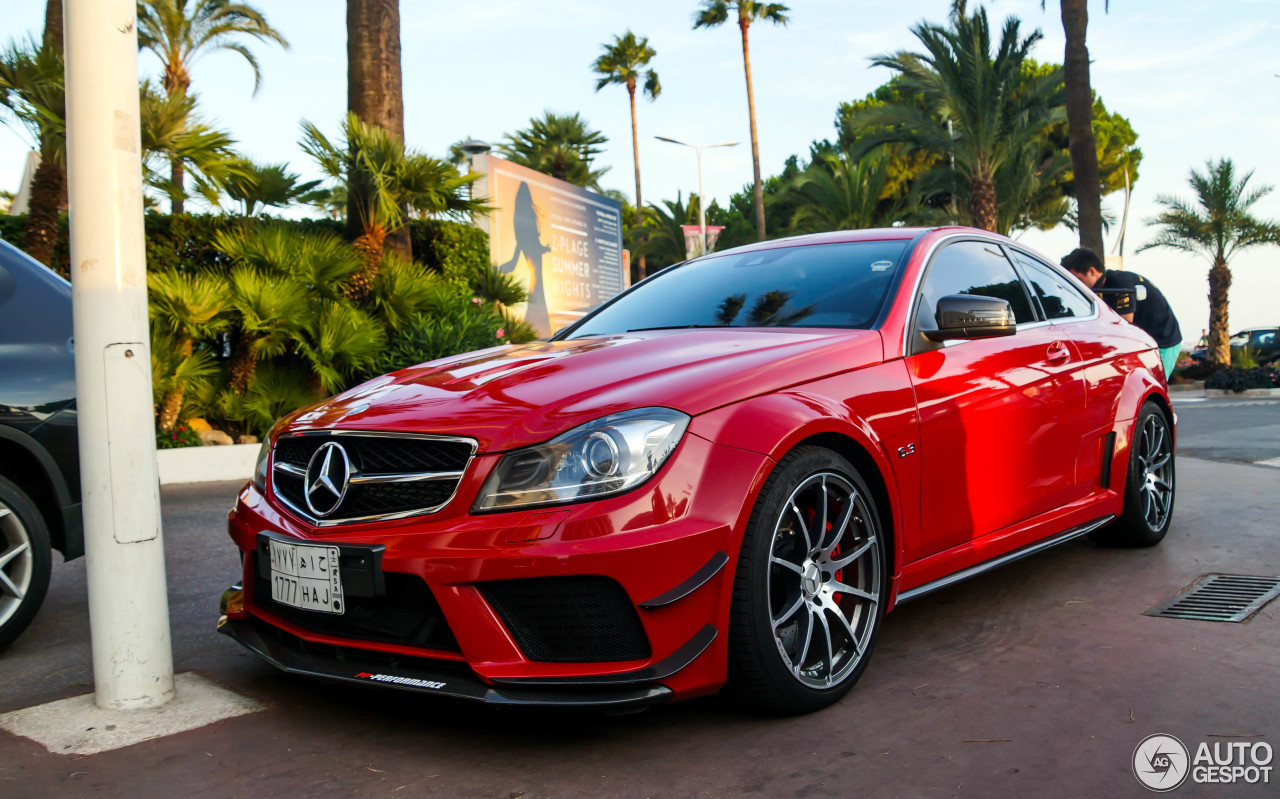 Mercedes Benz C 63 Amg Coup 233 Black Series Pp Performance