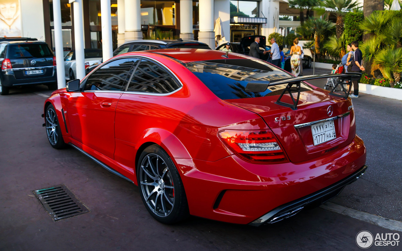 Mercedes benz c 63 amg coup black series pp performance for C series mercedes benz