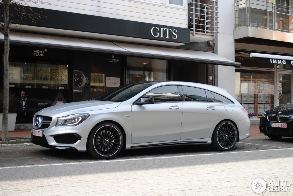 mercedes benz cla 45 amg shooting brake 17 april 2015. Black Bedroom Furniture Sets. Home Design Ideas