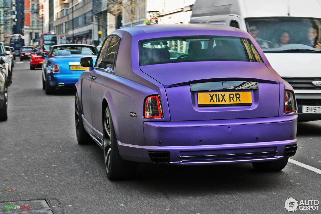 Rolls-Royce Phantom Mansory Conquistador - 17 April 2015 ...