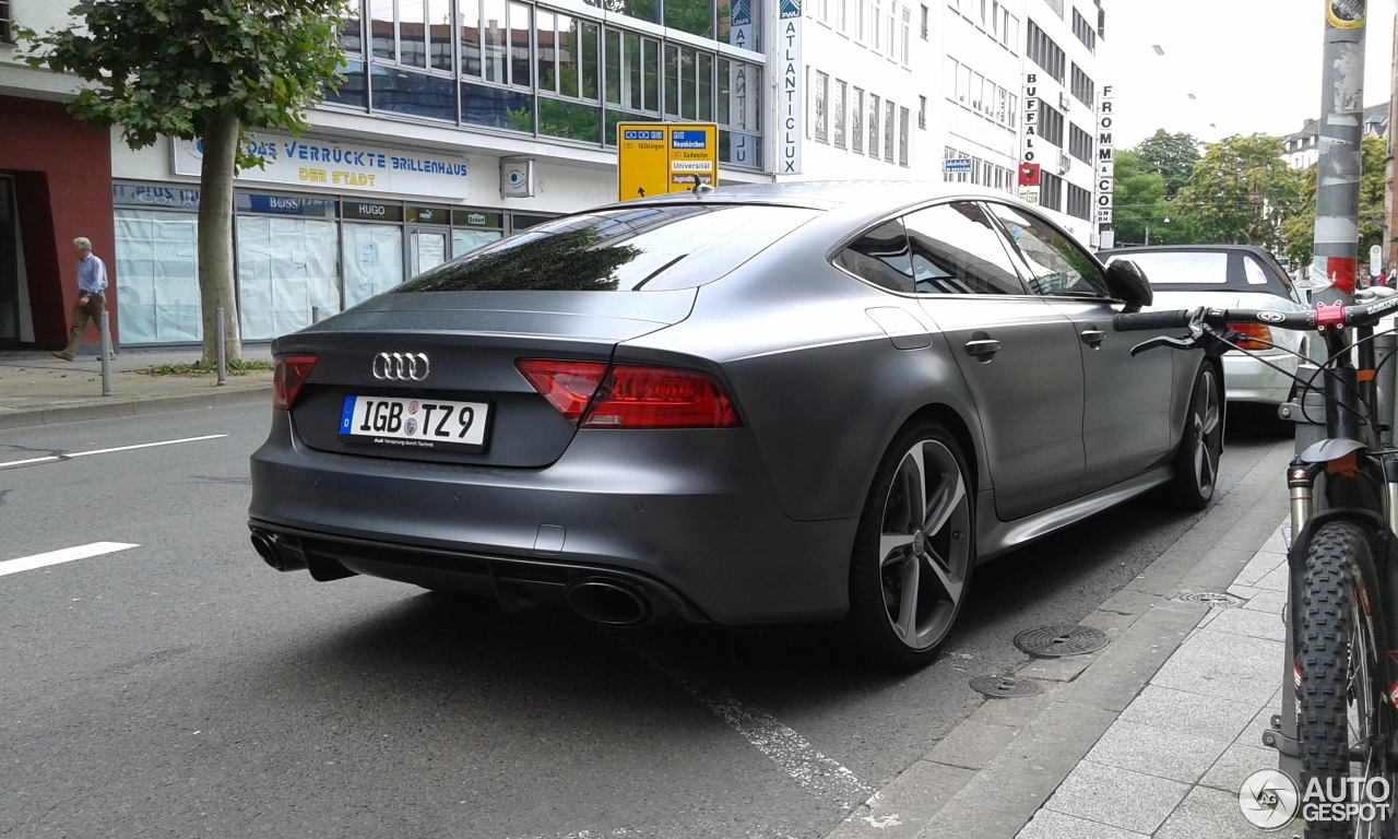 audi rs7 sportback 18 april 2015 autogespot. Black Bedroom Furniture Sets. Home Design Ideas