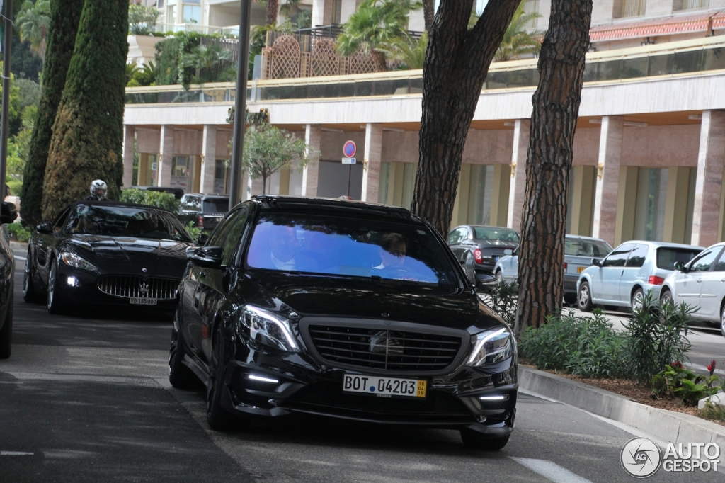 Mercedes Benz Brabus 850 6 0 Biturbo V222 18 April 2015 Autogespot