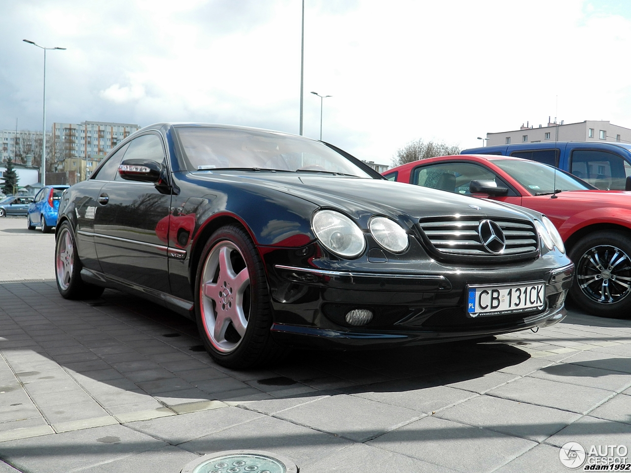 Mercedes benz cl 63 amg c215 18 april 2015 autogespot for Mercedes benz cl 63 amg price