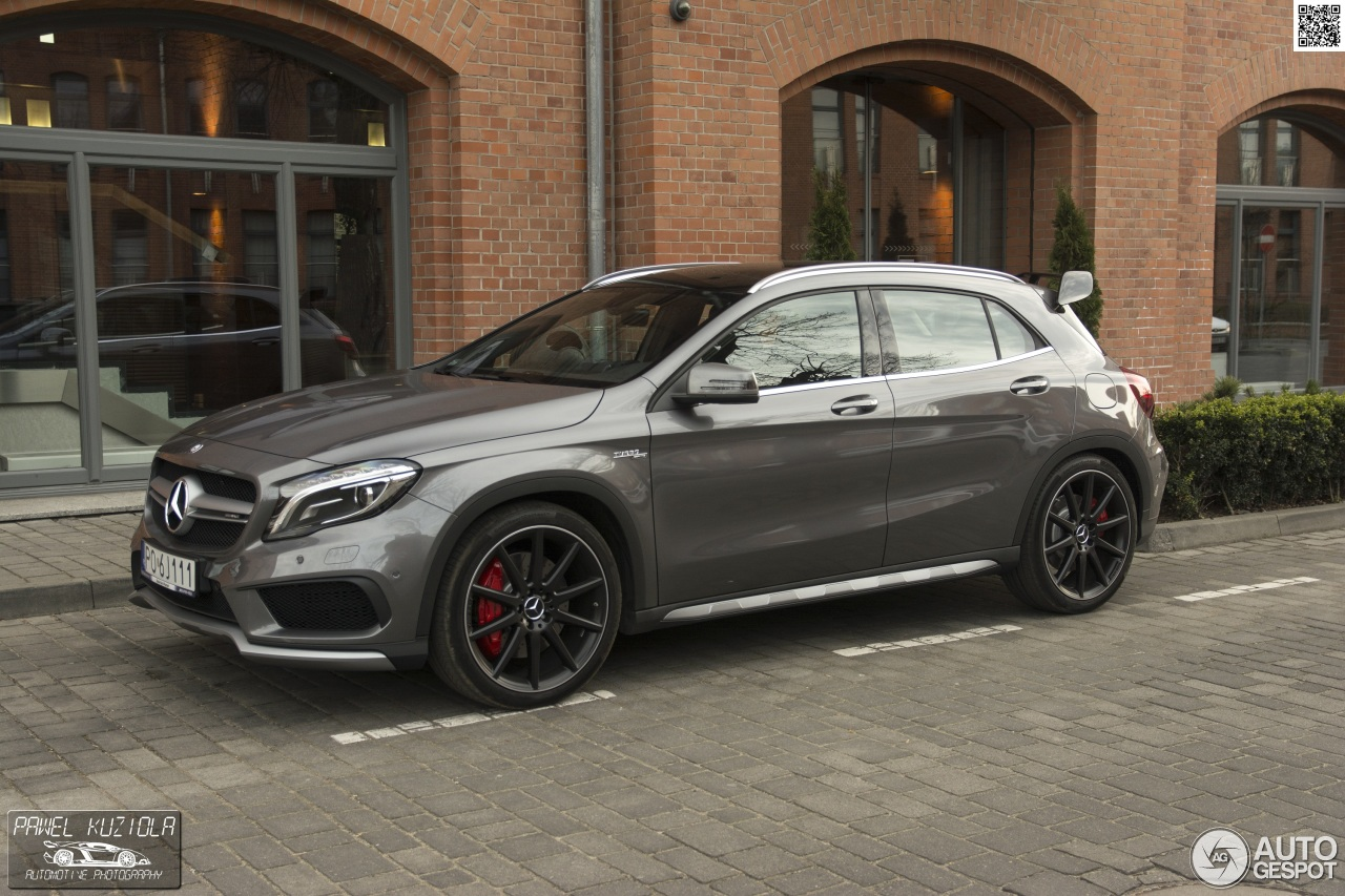 Mercedes-Benz GLA 45 AMG X156 - 18 April 2015 - Autogespot