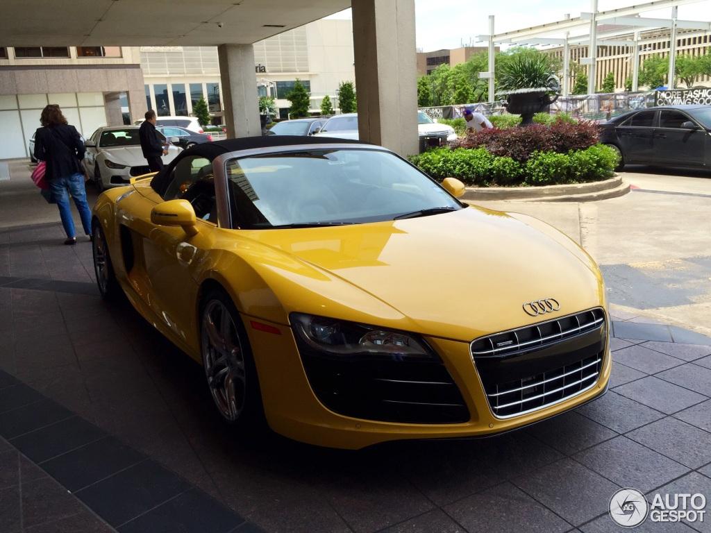 Audi R8 V10 Spyder 20 April 2015 Autogespot