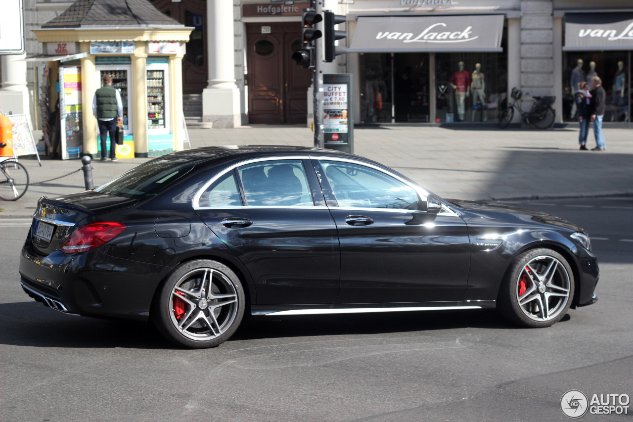 mercedes amg c 63 s w205 20 april 2015 autogespot. Black Bedroom Furniture Sets. Home Design Ideas