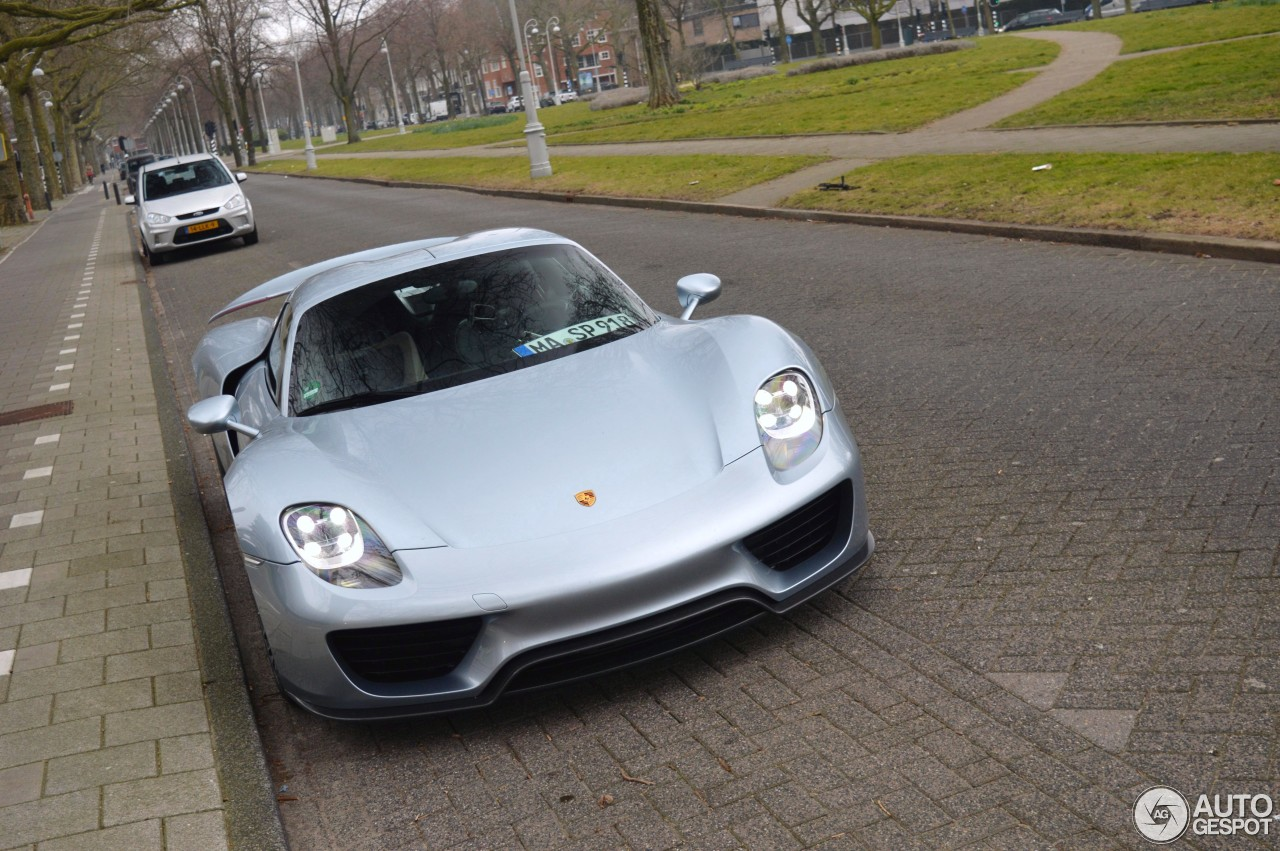 porsche 918 spyder 20 april 2015 autogespot. Black Bedroom Furniture Sets. Home Design Ideas