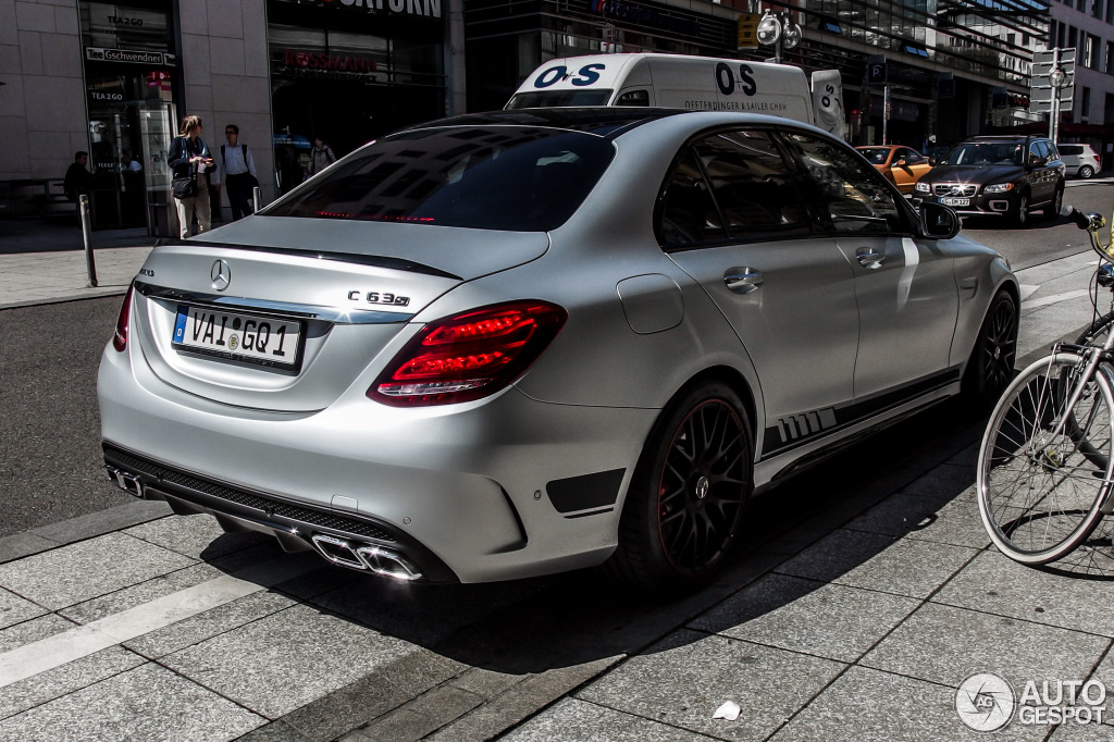 Mercedes Amg C 63 S W205 Edition 1 21 April 2015