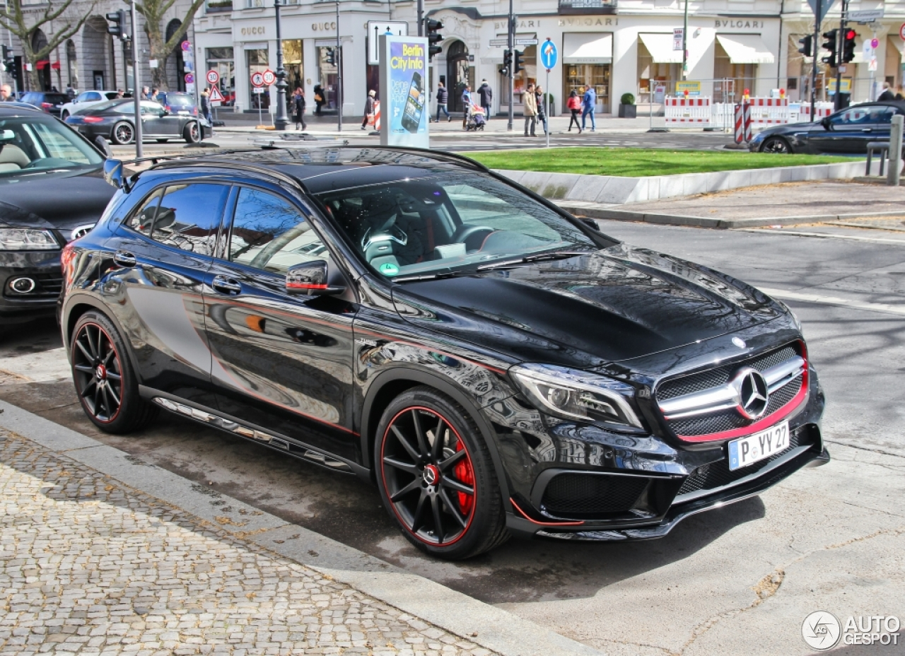 Mercedes Benz Gla 45 Amg Edition 1 21 April 2015