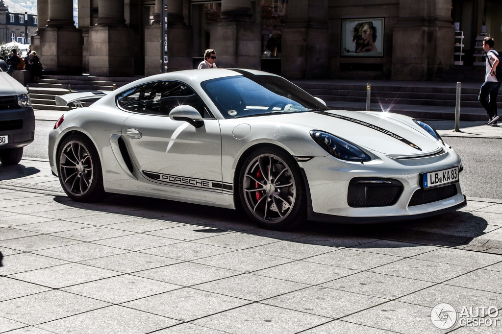 Porsche 981 Cayman Gt4 21 April 2015 Autogespot