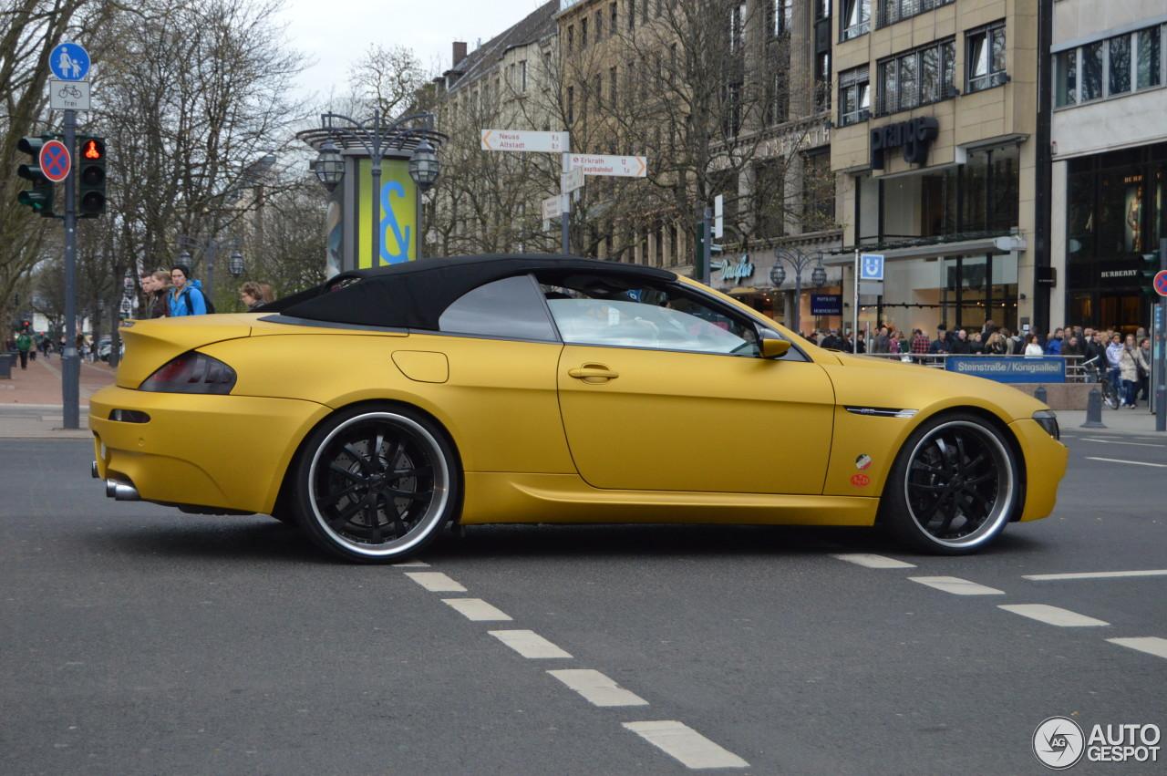 Bmw M6 E64 Cabriolet 22 April 2015 Autogespot