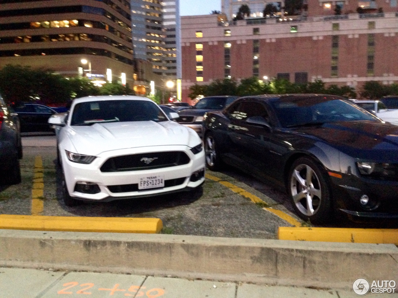 Ford Mustang 2015 Blanco 1 i Ford Mustang gt 2015 1