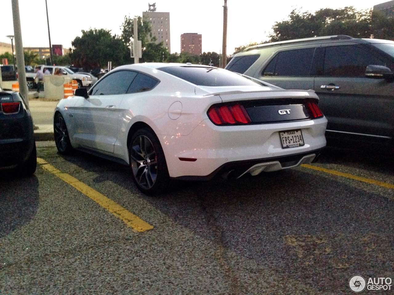 Ford Mustang 2015 Blanco 2 i Ford Mustang gt 2015 2