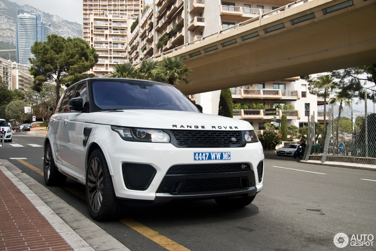 Land Rover Range Rover Sport Svr 22 April 2015 Autogespot