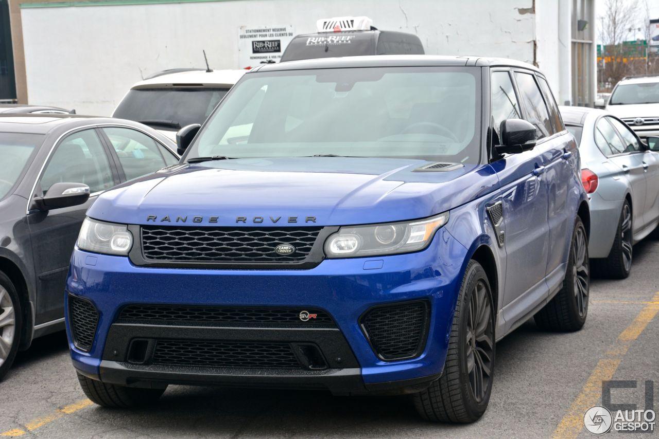 Land Rover Range Rover Sport Svr 23 April 2015 Autogespot