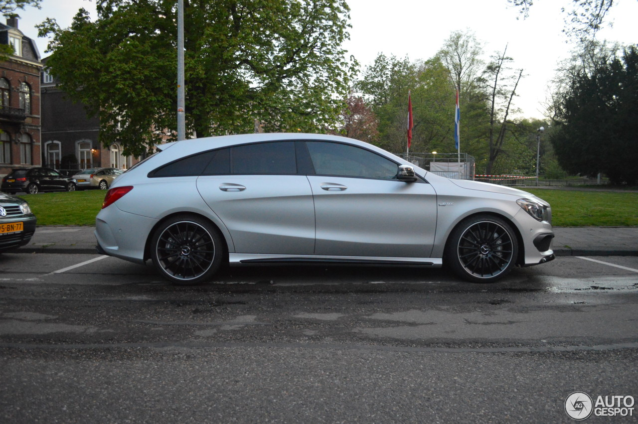 mercedes benz cla 45 amg shooting brake 25 april 2015 autogespot. Black Bedroom Furniture Sets. Home Design Ideas