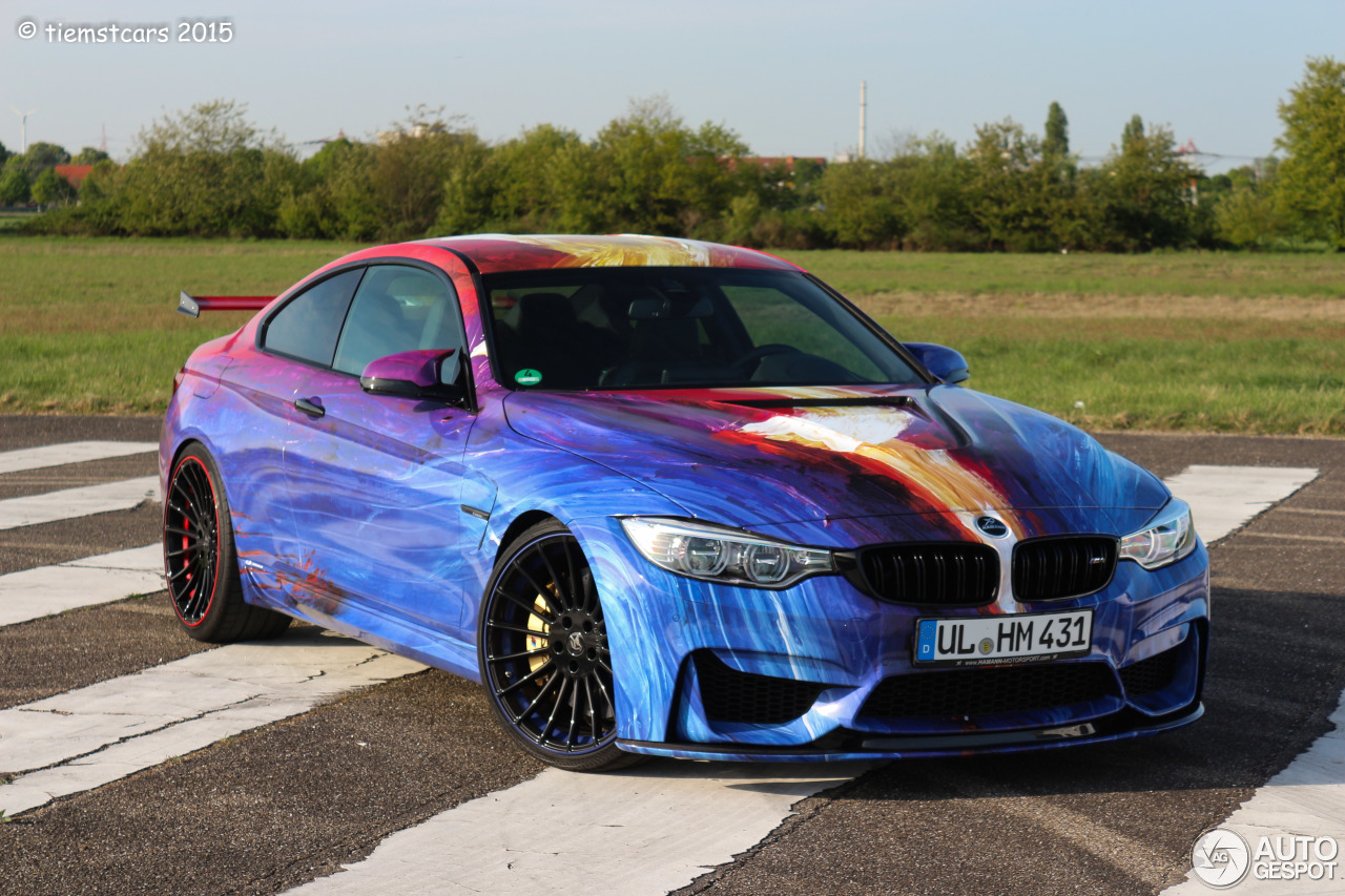 bmw hamann m4 f82 coup art car 26 april 2015 autogespot. Black Bedroom Furniture Sets. Home Design Ideas