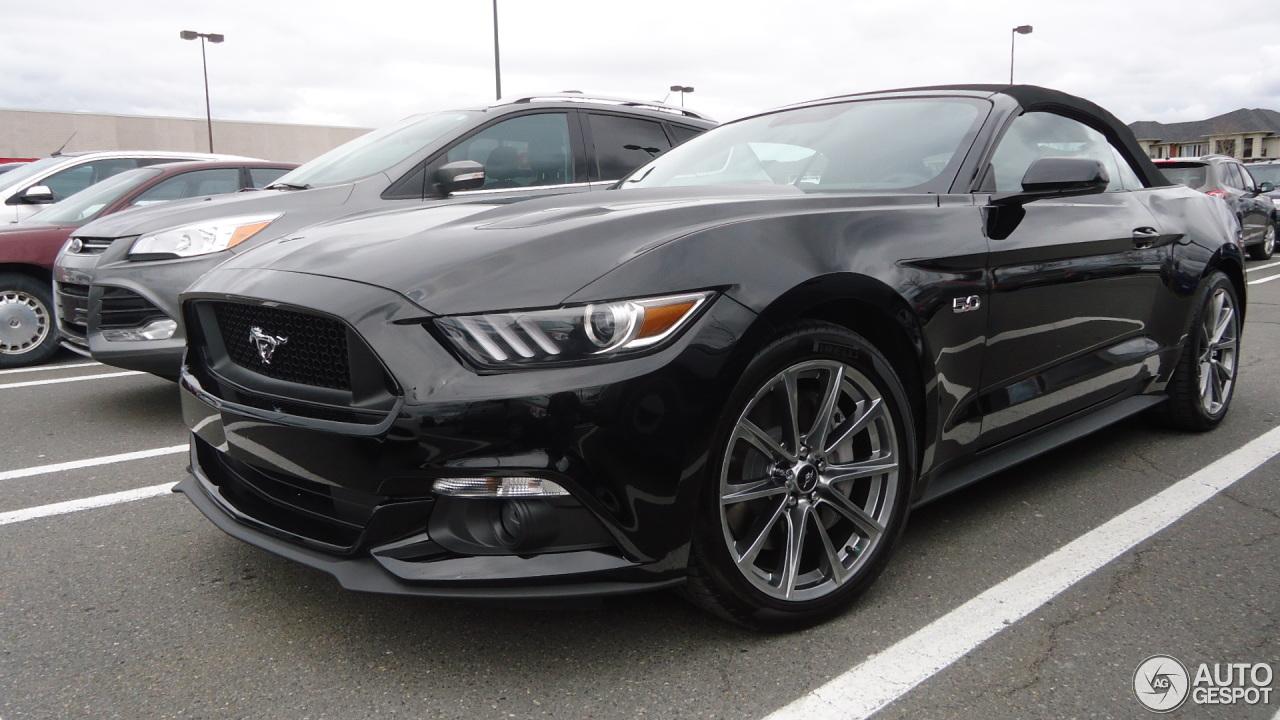 Ford Mustang GT Convertible 2015 - 26 April 2015 - Autogespot