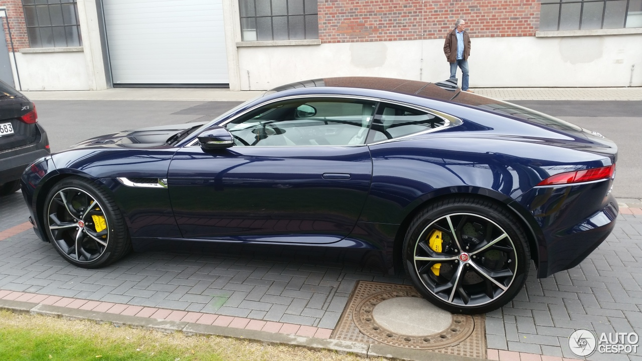 jaguar f type s awd coup 26 april 2015 autogespot. Black Bedroom Furniture Sets. Home Design Ideas