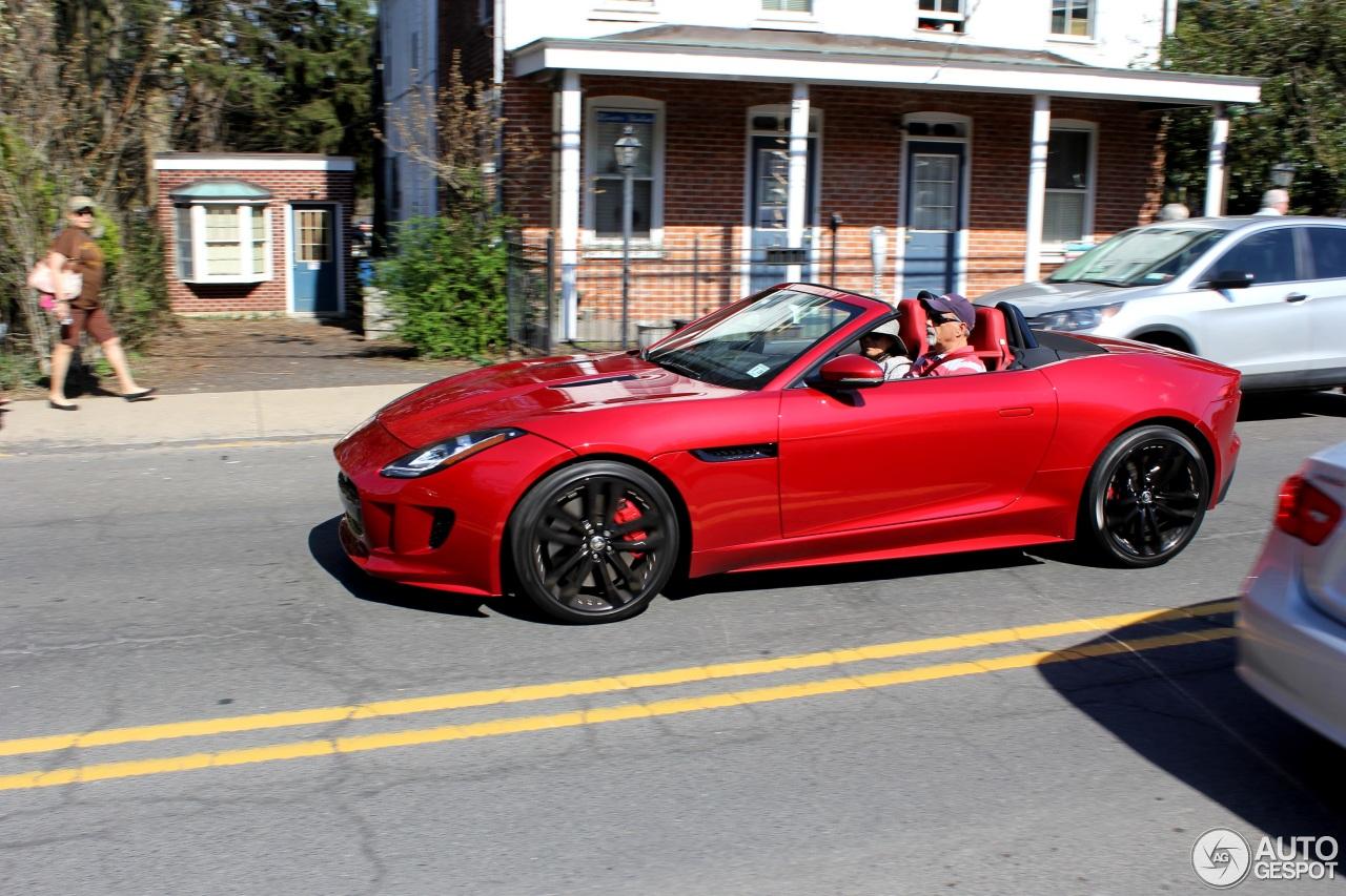 Jaguar FTYPE S V Convertible April Autogespot - 2015 jaguar f type v8 s