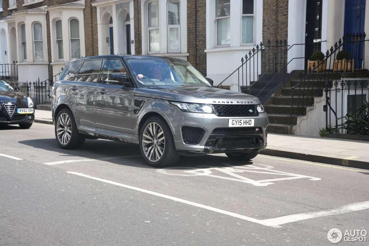 Land Rover Range Rover Sport Svr 28 April 2015 Autogespot