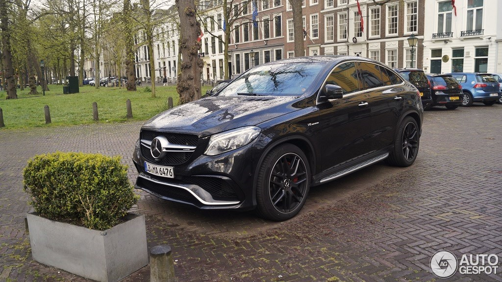 Mercedes Amg Gle 63 Coupe 28 April 2015 Autogespot