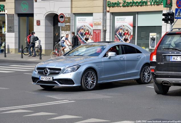 Mercedes-Benz CLS 63 AMG S C218 2015