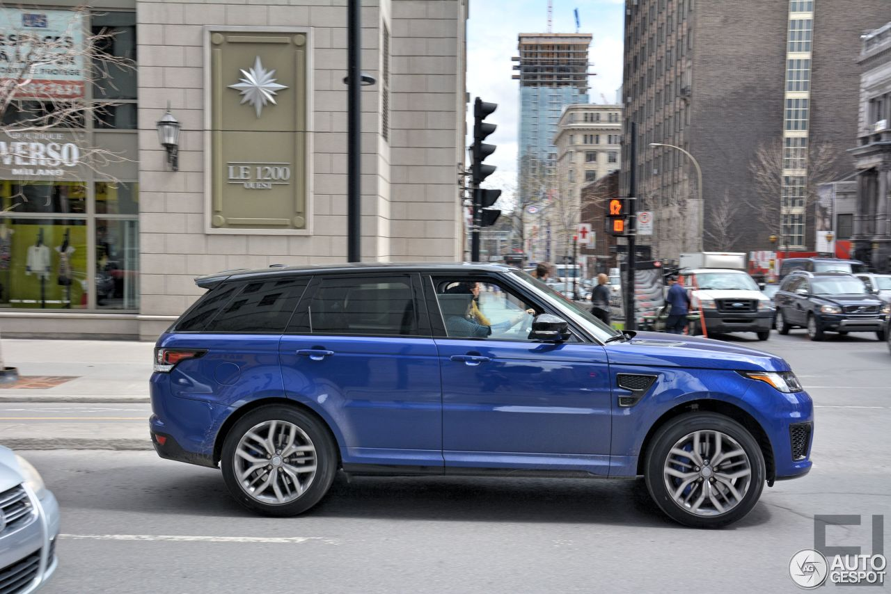 land rover range rover sport svr 1 mai 2015 autogespot. Black Bedroom Furniture Sets. Home Design Ideas