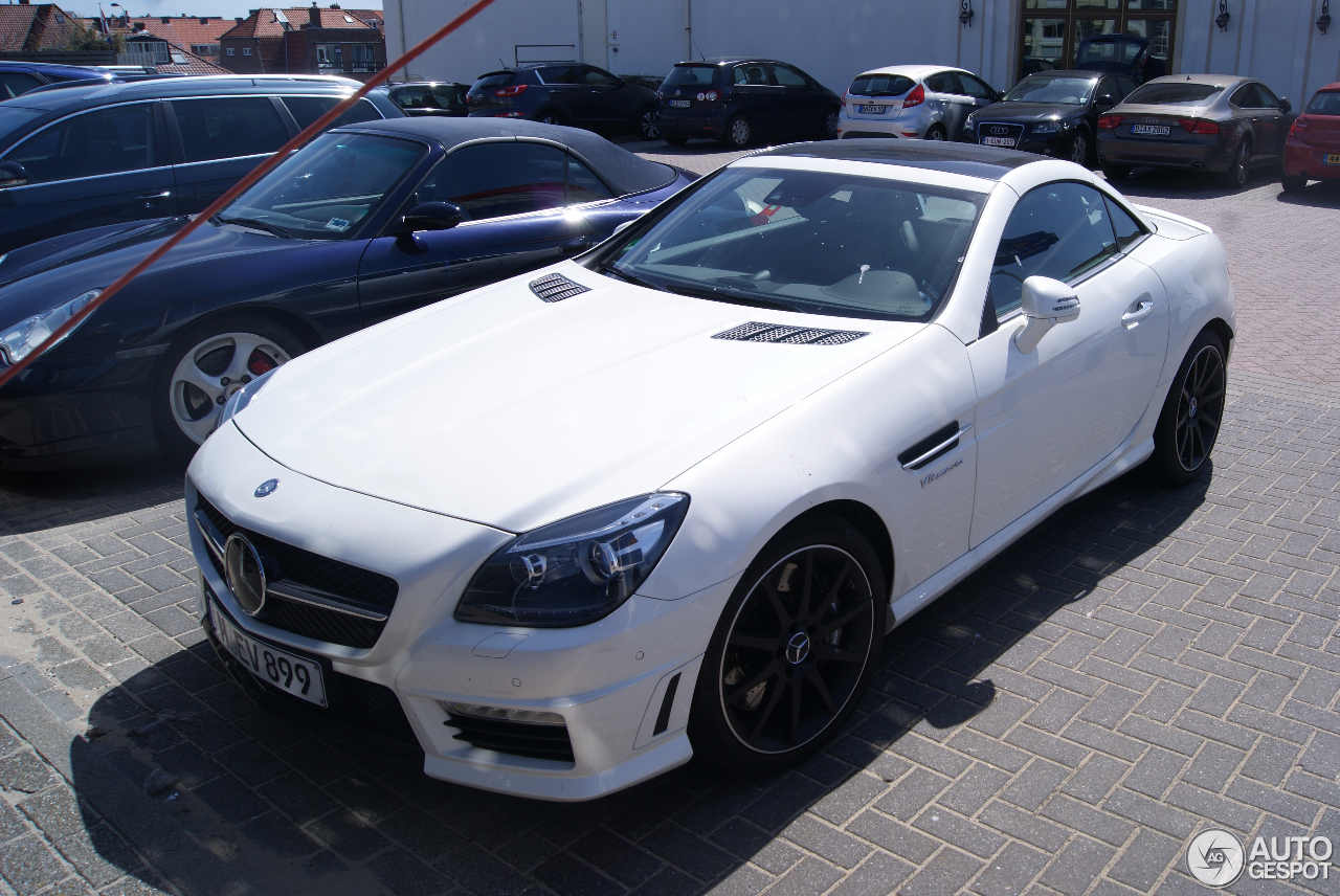 mercedes benz slk 55 amg r172 1 may 2015 autogespot. Black Bedroom Furniture Sets. Home Design Ideas