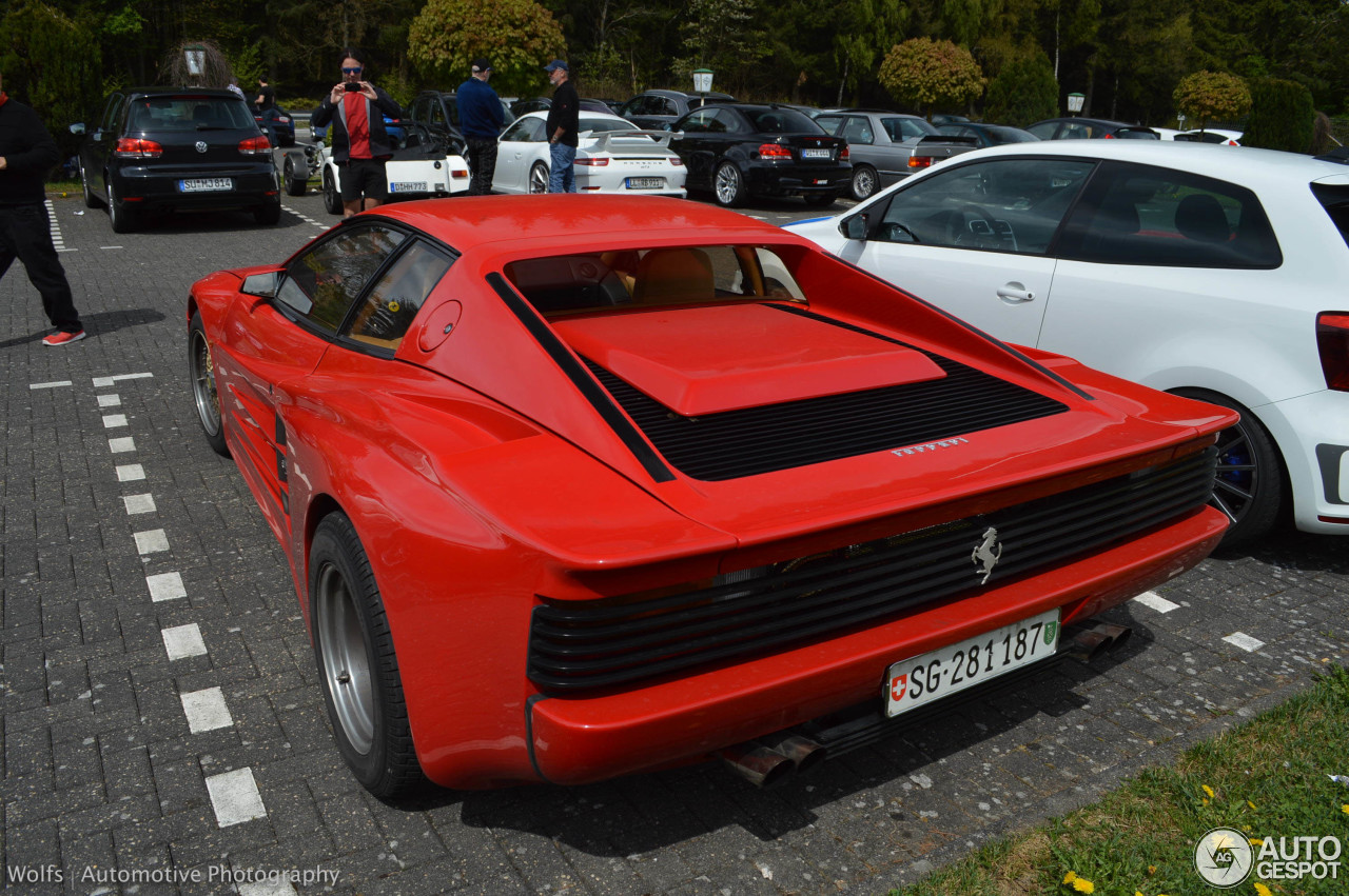 ferrari testarossa koenig widebody 2 may 2015 autogespot. Black Bedroom Furniture Sets. Home Design Ideas