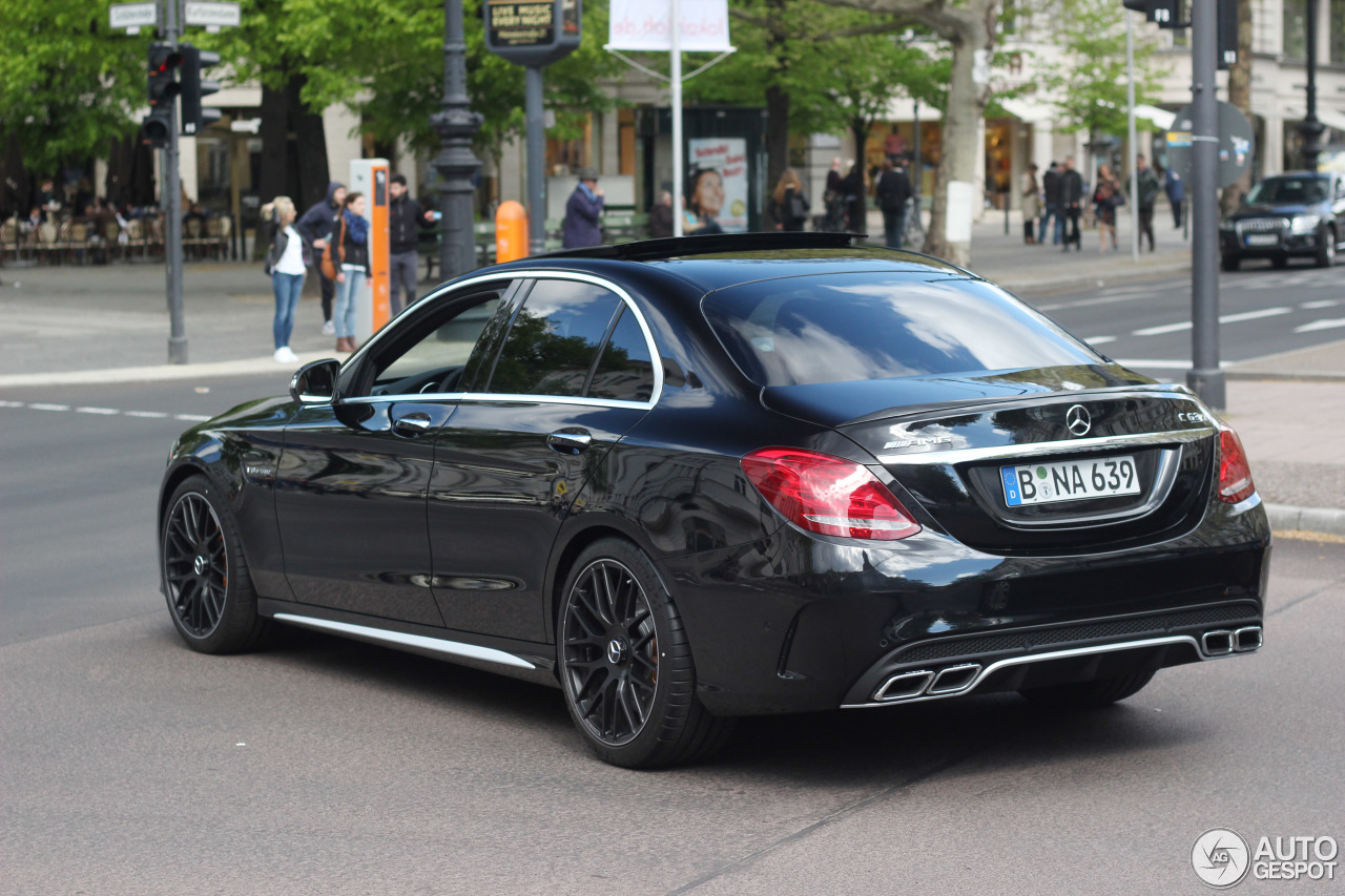 mercedes amg c 63 s w205 2 mai 2015 autogespot. Black Bedroom Furniture Sets. Home Design Ideas