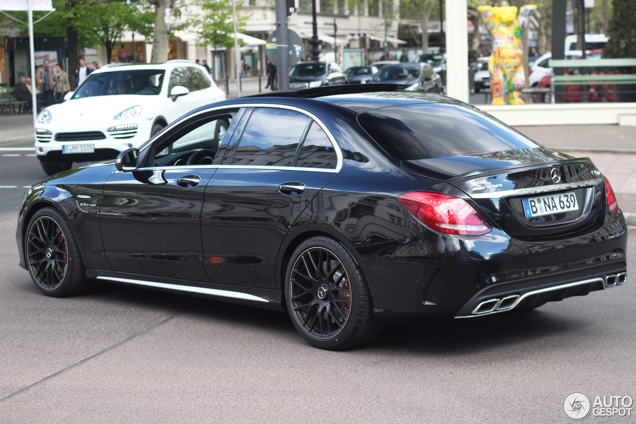mercedes amg c 63 s w205 2 may 2015 autogespot. Black Bedroom Furniture Sets. Home Design Ideas