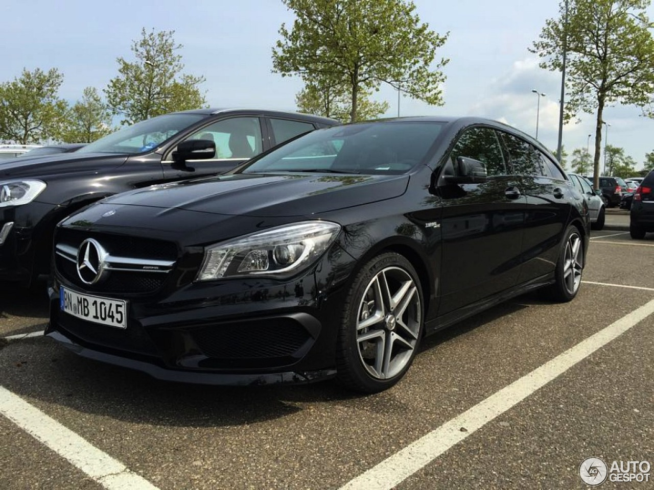 mercedes benz cla 45 amg shooting brake 3 mai 2015 autogespot. Black Bedroom Furniture Sets. Home Design Ideas