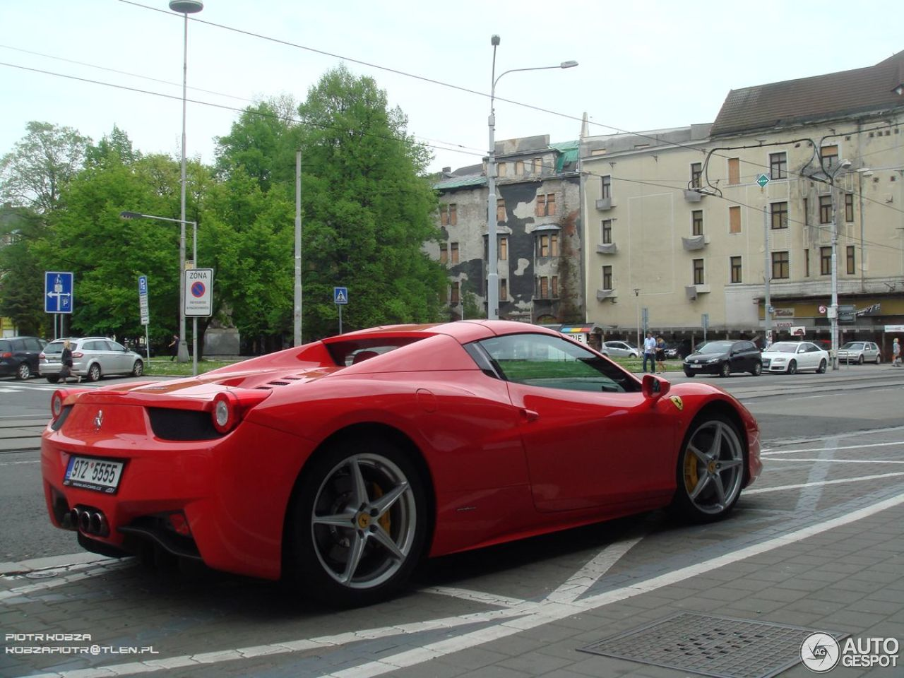 ferrari 458 spider 5 may 2015 autogespot. Black Bedroom Furniture Sets. Home Design Ideas