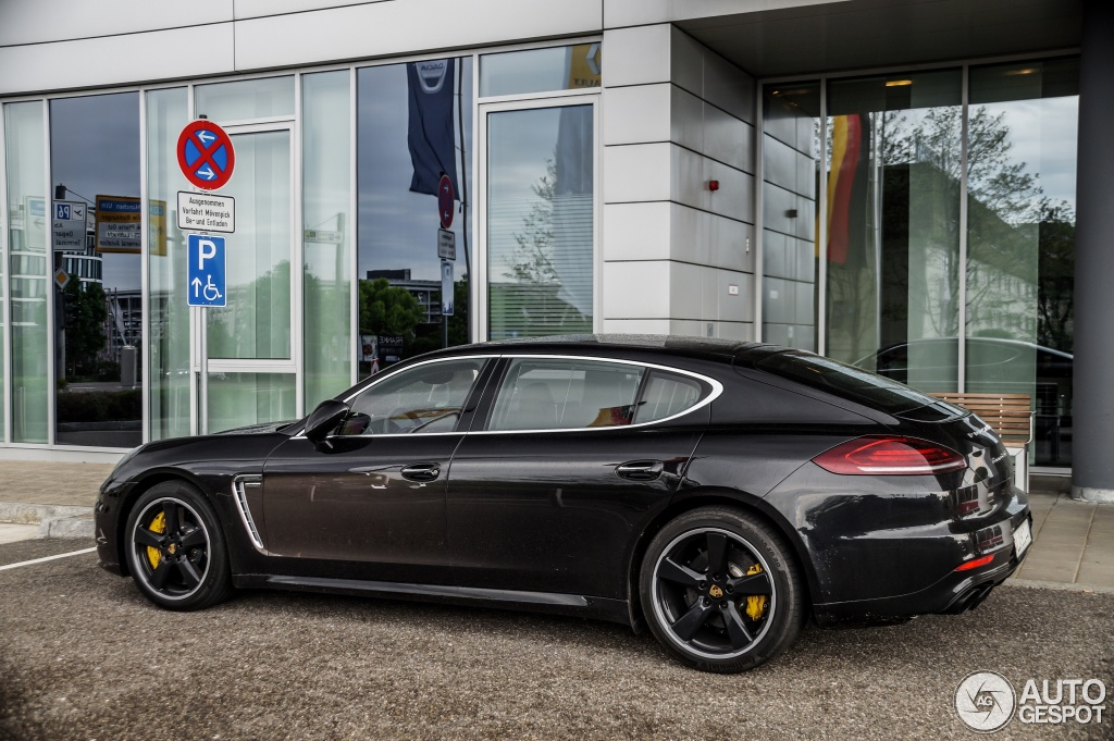 porsche panamera turbo s exclusive series