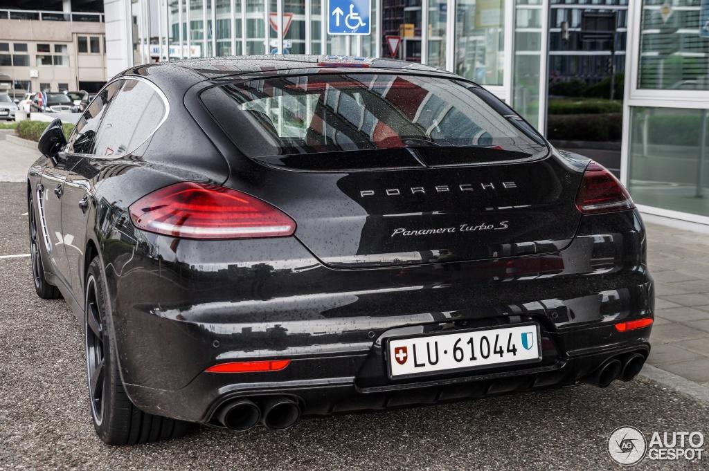 Porsche Panamera Turbo S Mkii Exclusive Series 5 May