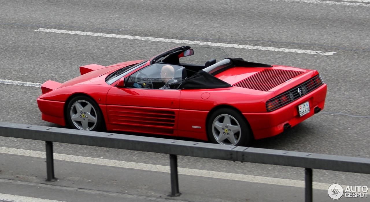 ferrari 348 spider 6 may 2015 autogespot. Black Bedroom Furniture Sets. Home Design Ideas