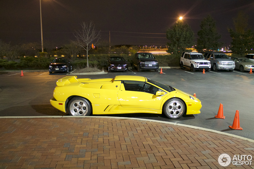 The Gallery For Gt Lamborghini Diablo Roadster Black