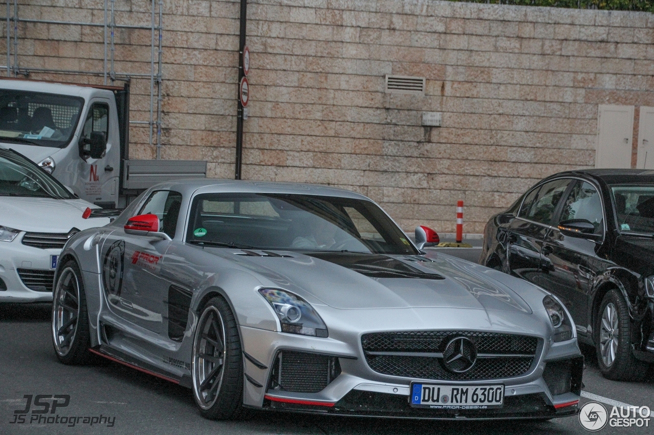 mercedes benz sls amg pd900gt widebody 6 may 2015 autogespot. Black Bedroom Furniture Sets. Home Design Ideas
