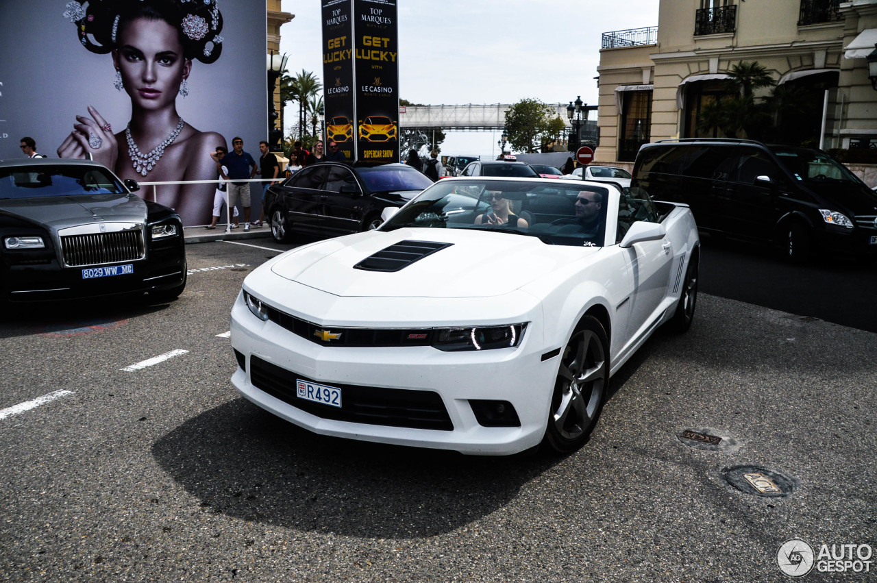 chevrolet camaro ss convertible 2014 7 mai 2015 autogespot. Black Bedroom Furniture Sets. Home Design Ideas
