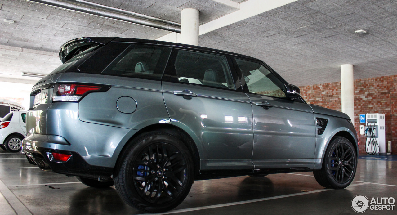 Land Rover Range Rover Sport Svr 7 May 2015 Autogespot