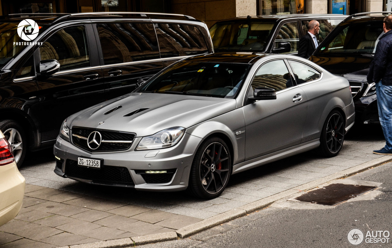 mercedes benz c 63 amg coup edition 507 7 may 2015. Black Bedroom Furniture Sets. Home Design Ideas