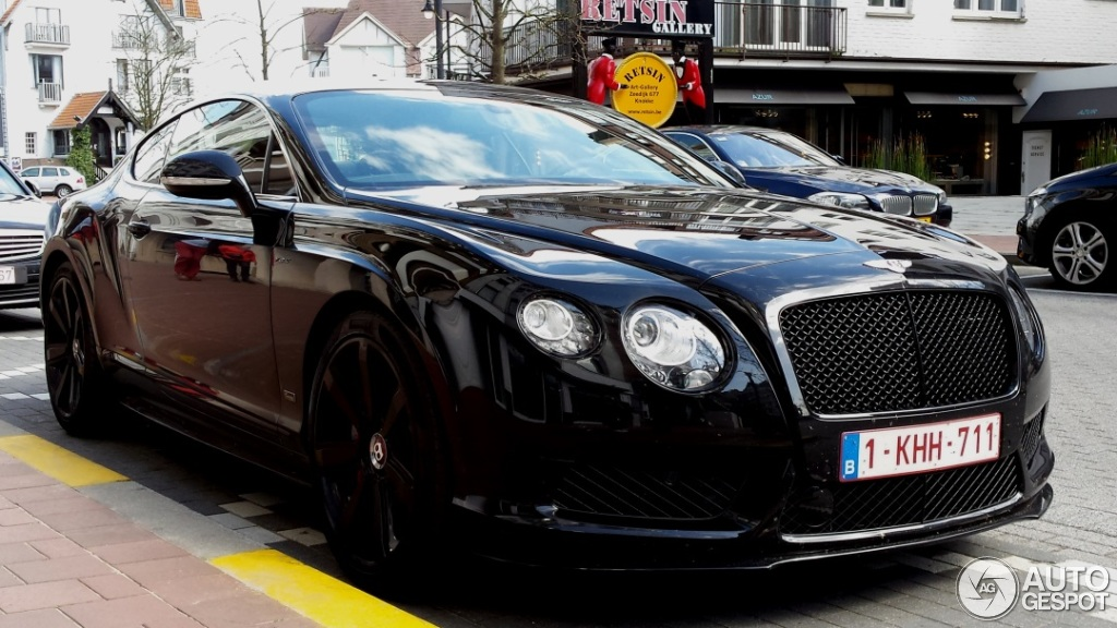 Bentley Continental Gt V8 S Concours Series Black 8 May 2015 Autogespot