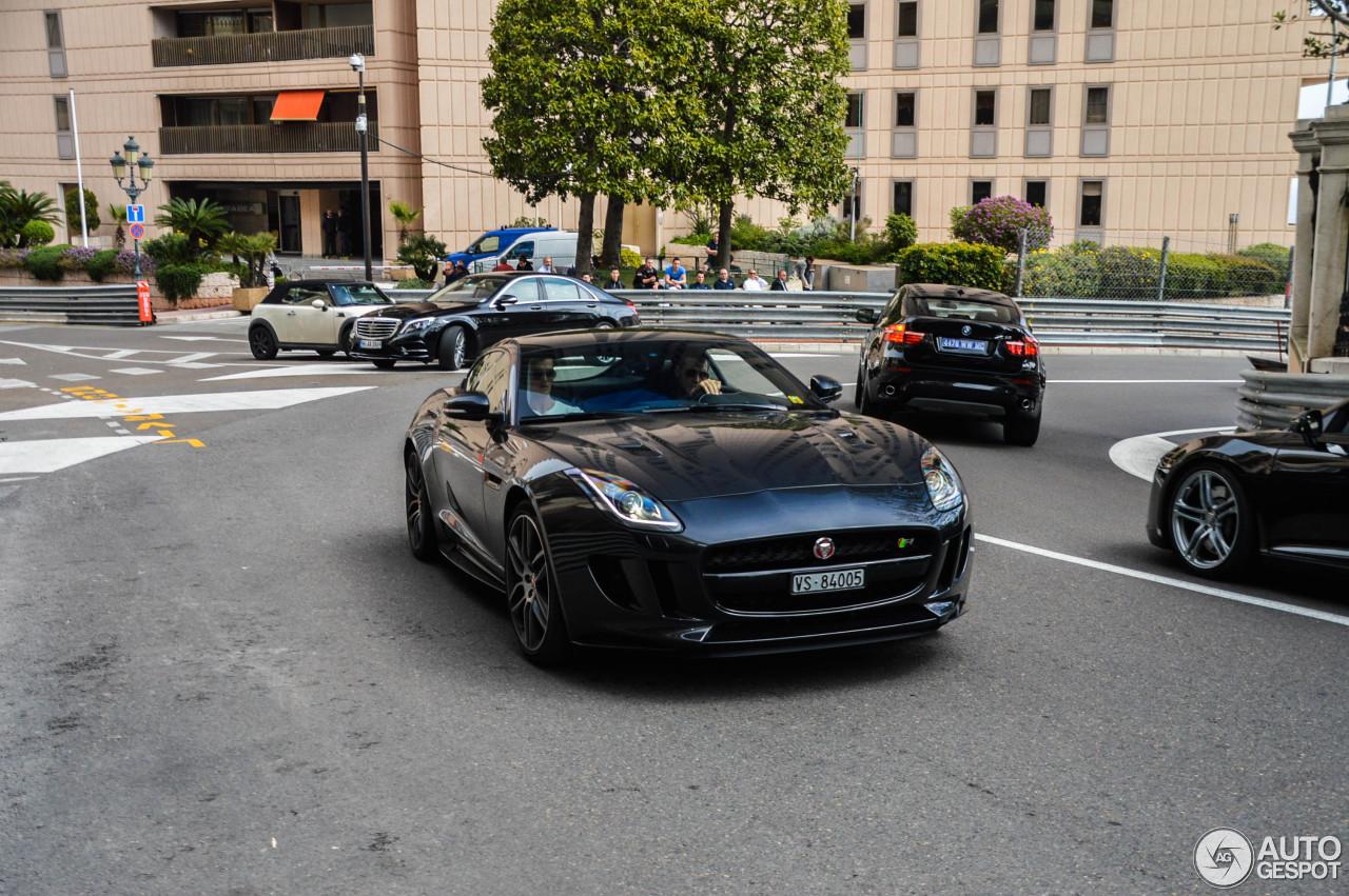 jaguar f type r coupe black - photo #41