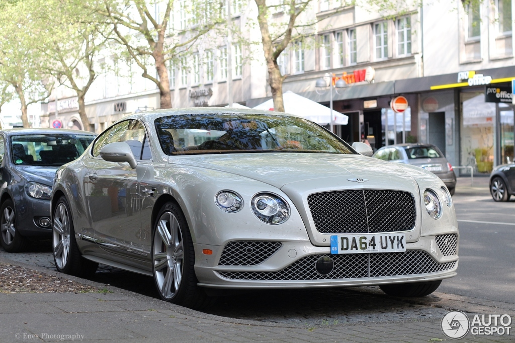 bentley continental gt speed 2016 10 may 2015 autogespot. Black Bedroom Furniture Sets. Home Design Ideas