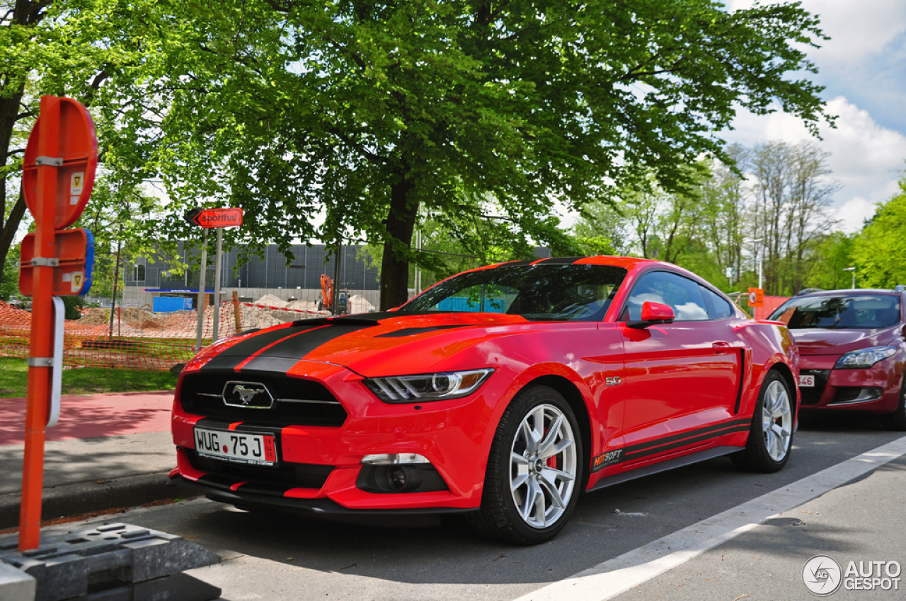 Ford Mustang GT 50th Anniversary Edition - 10 May 2015 ...