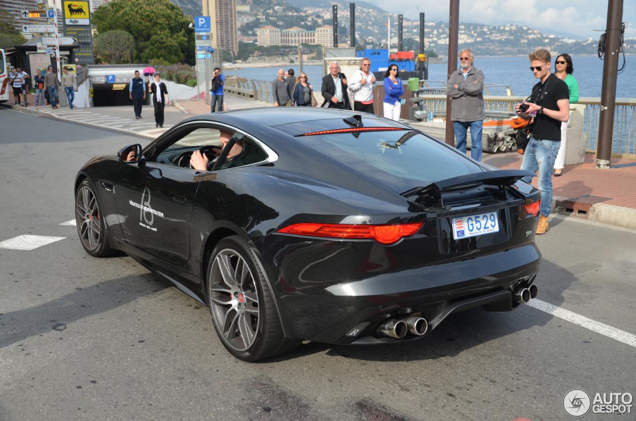 jaguar f type r coupe black - photo #29
