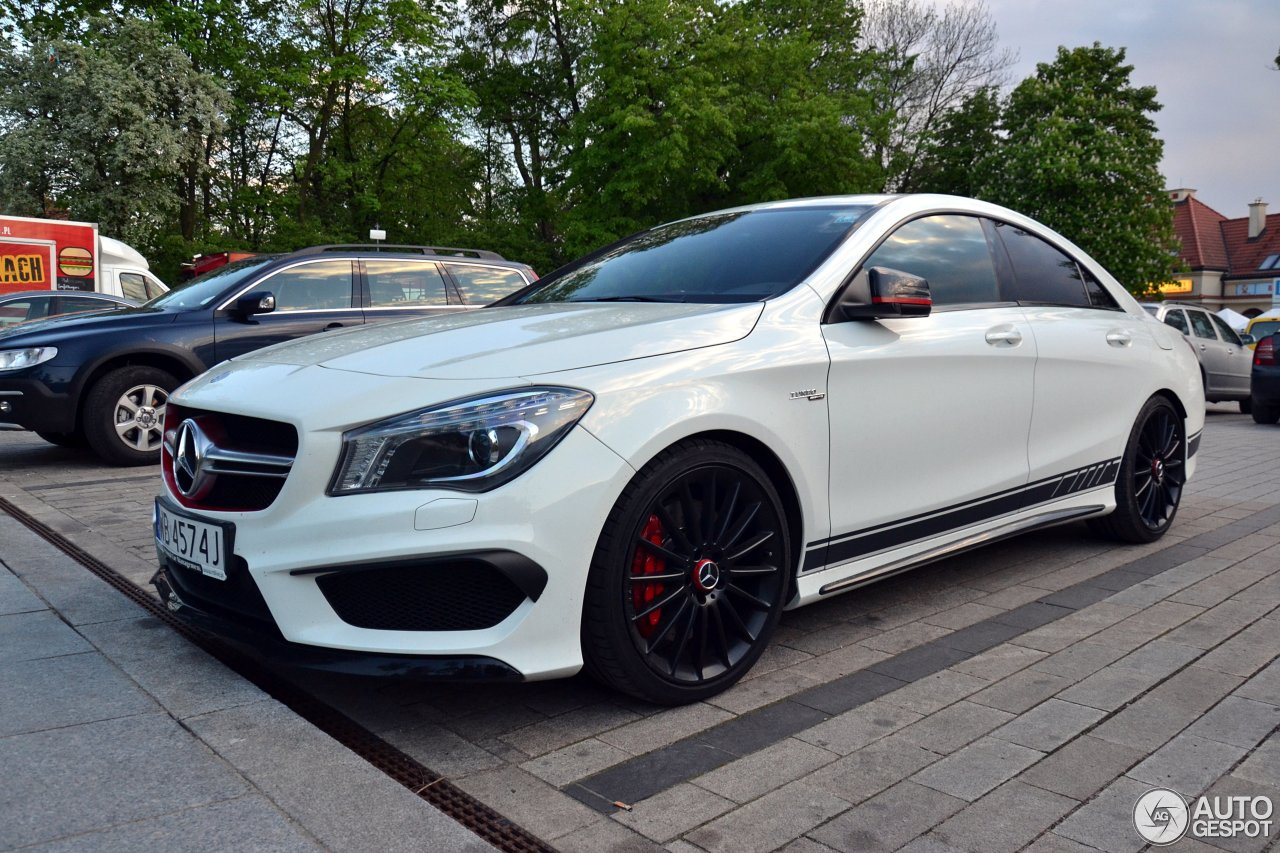 mercedes benz cla 45 amg edition 1 c117 10 may 2015. Black Bedroom Furniture Sets. Home Design Ideas