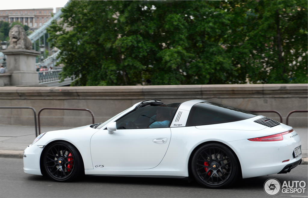 porsche 991 targa 4 gts 10 may 2015 autogespot. Black Bedroom Furniture Sets. Home Design Ideas